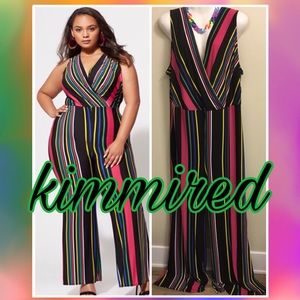 🆕 Fashion to Figure jumpsuit ~ 3/3X/(22/24) ~ NWT